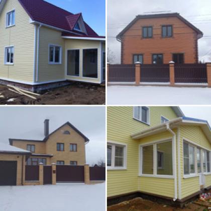 Строительство домов, дач, коттеджей во Владимирской области