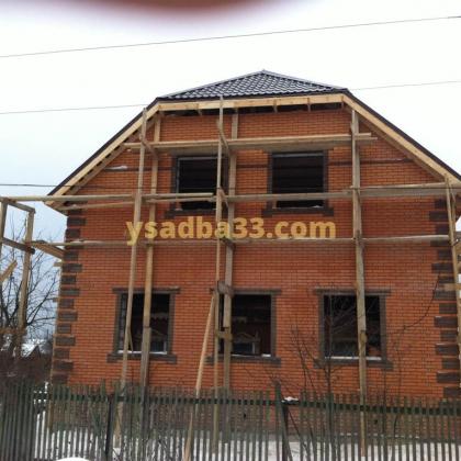 Строительство коттеджа по адресу г. Кольчугино, ул. Скрябина