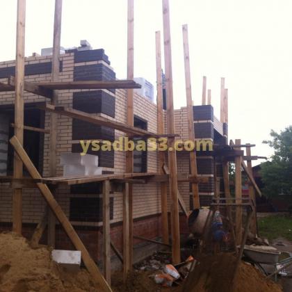 Строительство коттеджа в поселке Бавлены