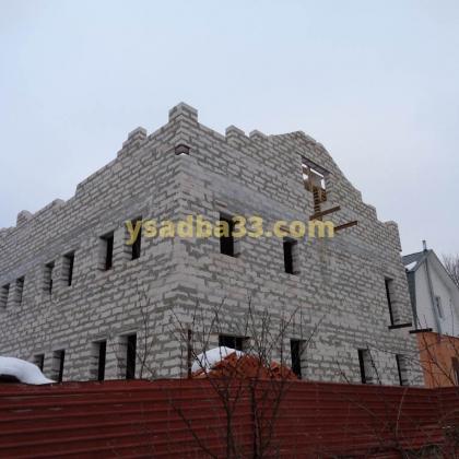 Строительство административного здания по адресу г. Киржач, ул. Гагарина, д.6