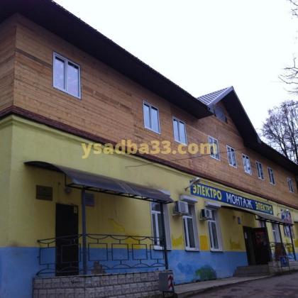 Строительство административно-офисного здания, монтаж металлической лестницы по адресу г. Кольчугино, ул. Дружбы 19а